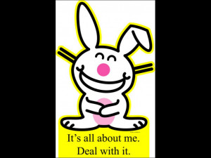 Happy Bunny - All About Me