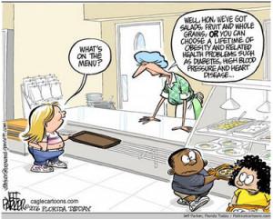 Kids' food choice, quality, and education.