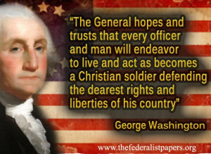 George Washington Quote – Sacred Fire of Liberty