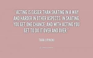 ... in other aspects. In skatin... - Tara Lipinski at Lifehack Quotes