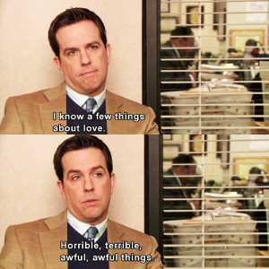the office, Andy Bernard