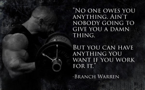 Generation Iron Branch Quote
