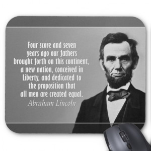Four Score And 70 Years Ago The Gettysburg Address