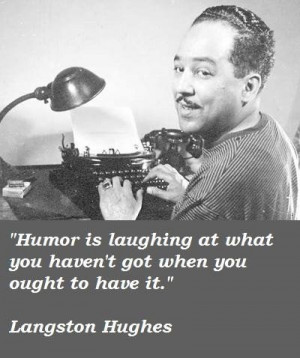 Langston hughes famous quotes 1