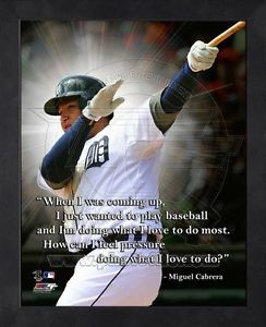 Miguel-Cabrera-Detroit-Tigers-11x14-Black-Wood-Framed-Pro-Quotes-Photo