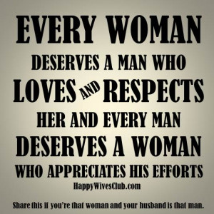 What a Woman Deserves