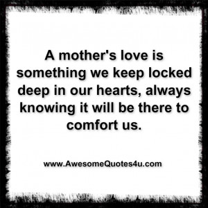 Love Mother Like Awesome Mothers Quote