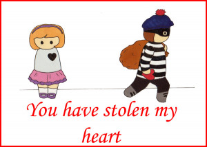 You Were Thief Stole Heart Gif