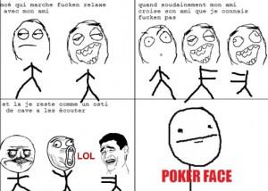 Poker Face Rage Ics