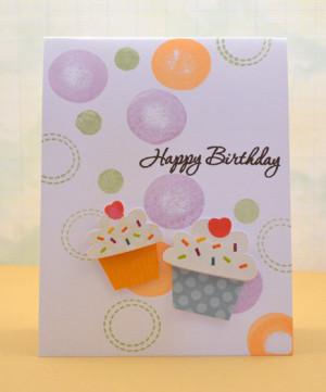 Cupcake Happy Birthday Quotes