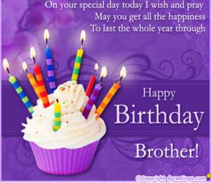 HAPPY BIRTHDAY BROTHER.....