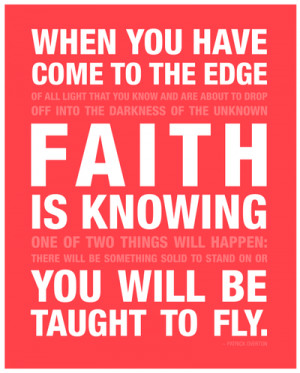 ... quote so much of faith belief and assurance wow just love this quote