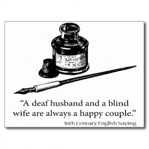 Deaf Quotes Sayings Quotes sayings postcard