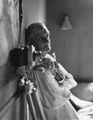 Dorothea Lange in her Bay Area home studio, 1964. Photo: ©1964, 2014 ...