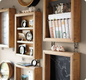 Checks in a Decorative Wall Organizer of consoles and find the ...