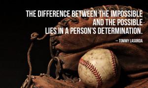 Motivational Baseball Quote #5: