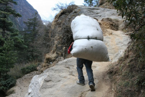 Why carry that heavy burden?