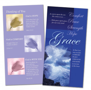 ... SYMPATHY CARDS - WITH CHRISTIAN WORDING & BIBLE VERSES