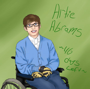 Glee Brittany And Artie Fan Art