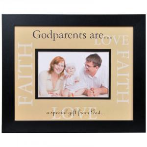 Godparents Love Frame