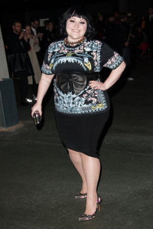 beth ditto mit jean paul gaultier