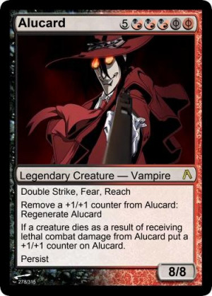 Alucard Hellsing Ultimate Abridged