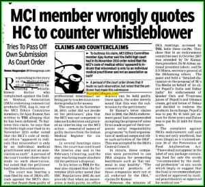 Medical Council of India (MCI), New Delhi, Delhi