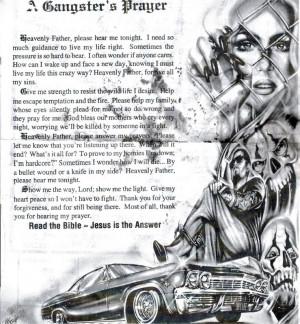 Gangster's Prayer Image