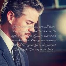 if you love someone you tell them mark sloan