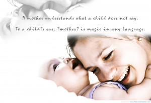 mother quotes on children