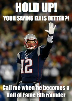 Hold Up! Your Saying Eli Is Better?!