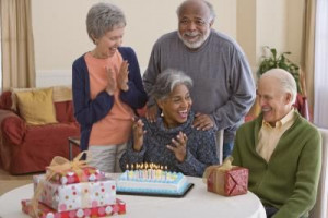 ... that this makes me laugh :( Birthday Party Ideas for Senior Citizens