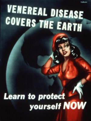 WW II Posters Warning US Servicemen against Venereal Diseases
