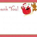 Saying Thank You Christmas Cards