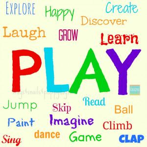 Free Playroom Graphic