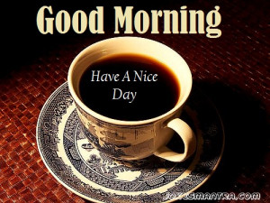 beautiful gud morning wishes with coffee mug, Share with your close ...