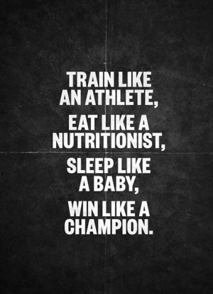 Champion Sports Motivational Quote