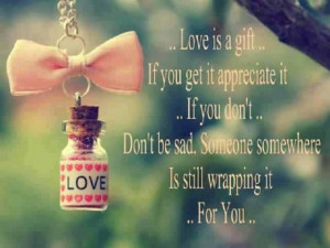 give the gift of love freely!