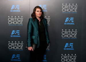 Clea DuVall and Gaby Hoffmann - Critics' Choice Television Awards 2015
