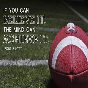 Quotes, Quotes Ronnie, Lott Quotes, Achievement, Football Quotes ...