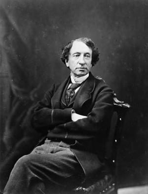 Photograph of Sir John A. Macdonald, 1872