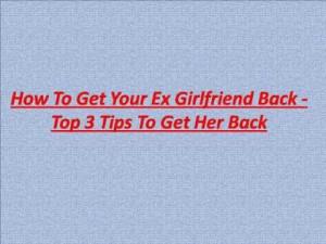 My Ex Girlfriend Is Sending Me Mixed Signals