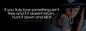 Click to view if you truly love something facebook cover photo