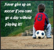Soccer Sayings, Quotes, Expressions and Slogans