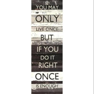 Zephyr Quote I Poster Print by Mike Schick (12 x 36)