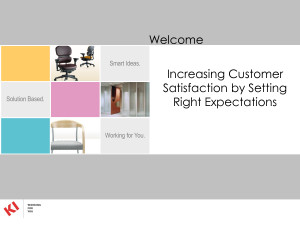 ... Satisfaction by Setting Expectations Right ppt Quote by MikeJenny