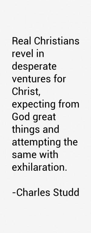Charles Studd Quotes amp Sayings