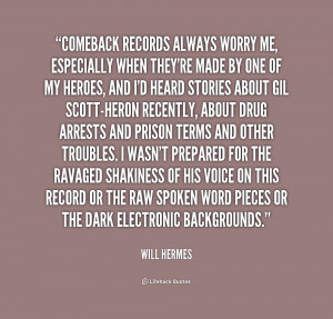 Will Hermes Quotes