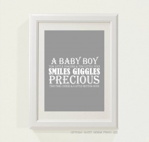etsy.comNursery Wall quote