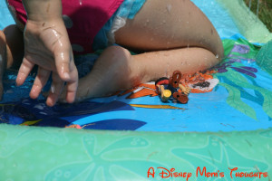 had a few Disney Jr. friends stop by to play on the Nemo slide! Jake ...
